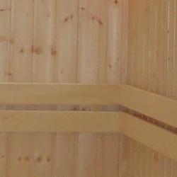 sauna rugleuning hout