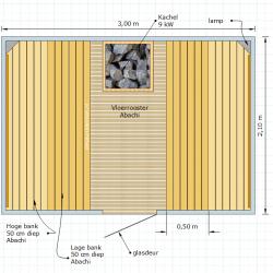 Sauna 17 - 210 x 300